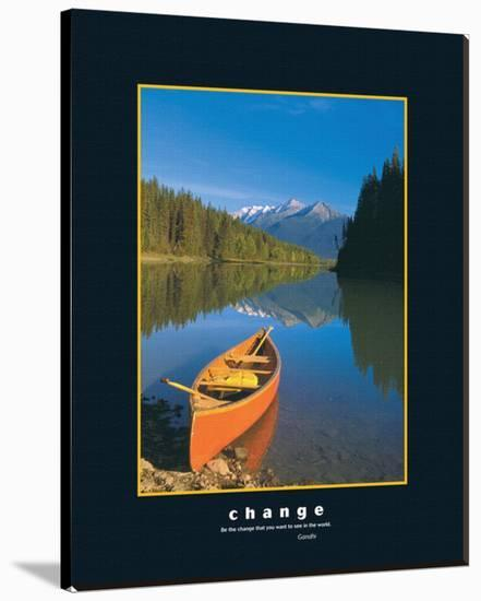Change--Stretched Canvas Print