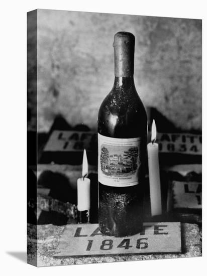 Chateau-Lafite-Wine-Pierre Boulat-Stretched Canvas Print