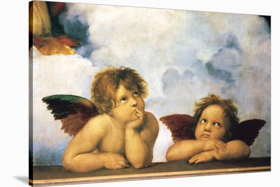 Cherubini-Raphael-Stretched Canvas Print