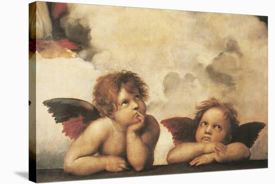 Cherubs-Raphael-Stretched Canvas Print