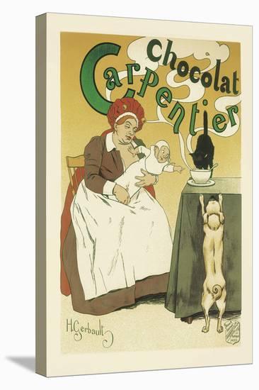 Chocolat Carpentier-Henri Gerbault-Stretched Canvas Print