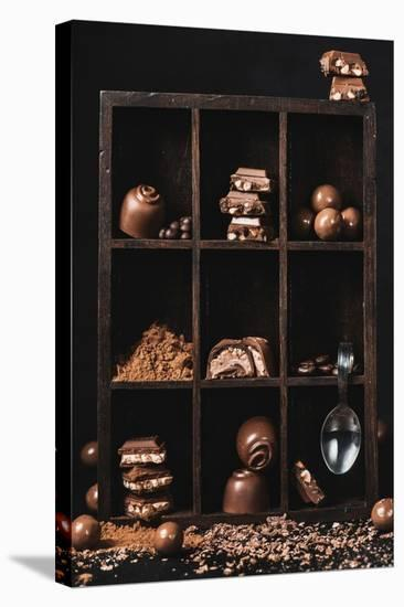 Chocolate Collection-Dina Belenko-Stretched Canvas Print