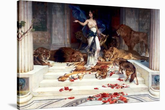 Circe-Wright Baker-Stretched Canvas Print