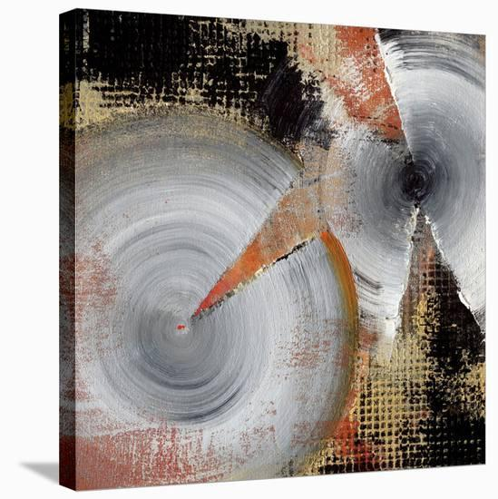 Circle Abstract I-Noah Li-Leger-Stretched Canvas Print