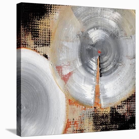Circle Abstract II-Noah Li-Leger-Stretched Canvas Print
