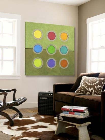 Circle Grid I-Darlene Kulig-Loft Art