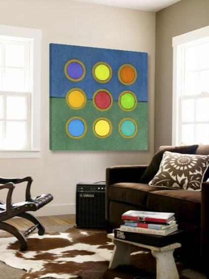 Circle Grid II-Darlene Kulig-Loft Art