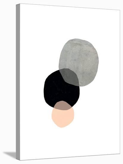 Circles-Seventy Tree-Stretched Canvas Print