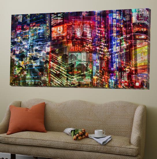 City Lights 1-Jean-François Dupuis-Loft Art