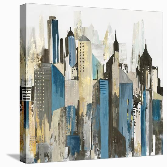 City of Wonder-PI Creative Art-Stretched Canvas Print