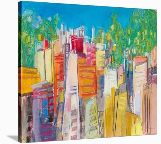 City Parks 5--Stretched Canvas Print