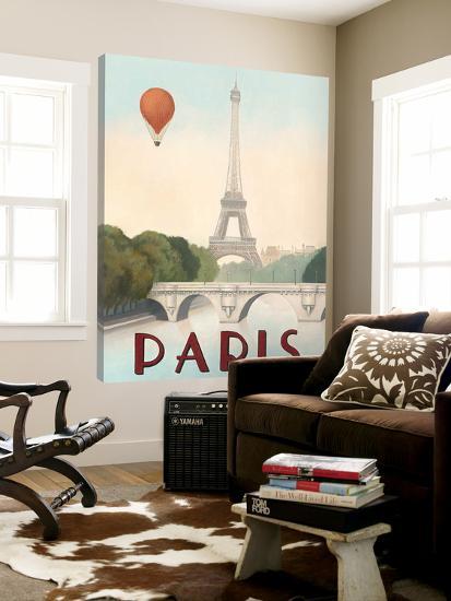 City Skyline Paris-Marco Fabiano-Loft Art