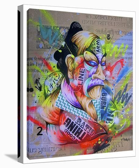 Civilization 2-Taka Sudo-Stretched Canvas Print