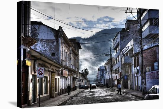 Clouds after Rain in City-Nish Nalbandian-Stretched Canvas Print