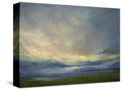 Clouds on the Bay III-Sheila Finch-Stretched Canvas Print
