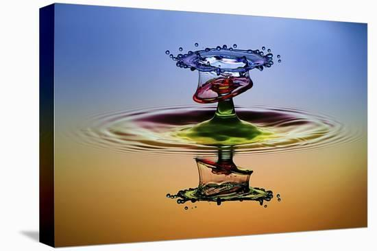 Cmyk-Muhammad Berkati-Stretched Canvas Print
