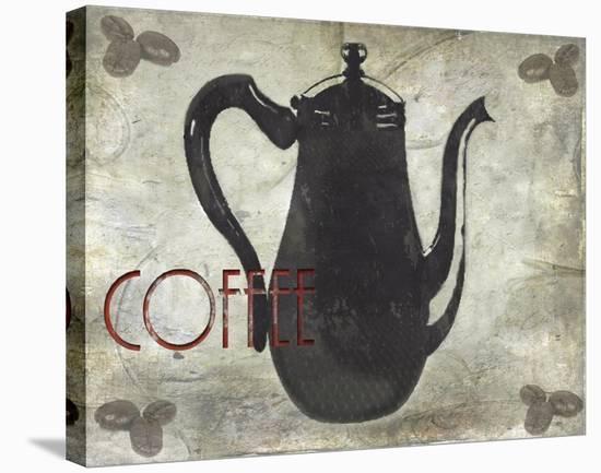 Coffee-Karen J^ Williams-Stretched Canvas Print