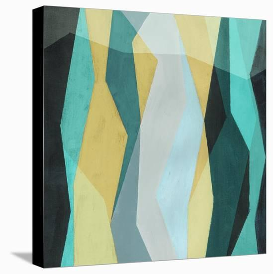 Color Block Pattern II-Grace Popp-Stretched Canvas Print