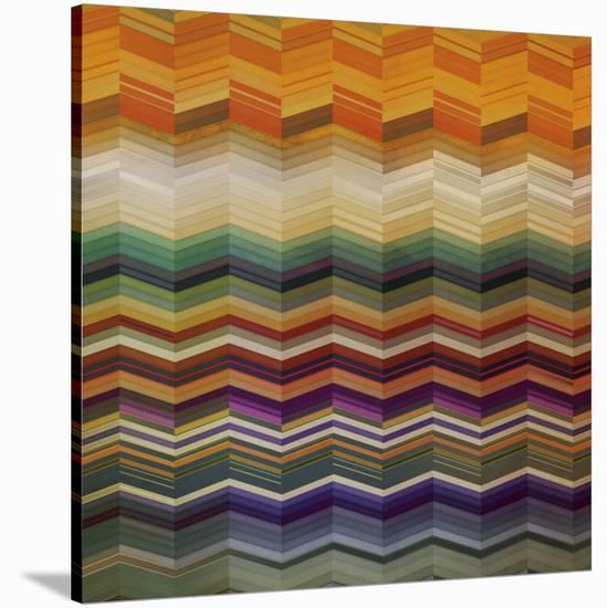Color & Cadence II-Noah Li-Leger-Stretched Canvas Print