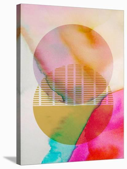 Color Sphere I--Stretched Canvas Print