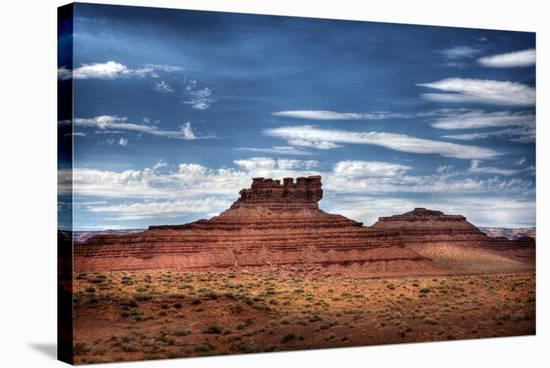 Colorful Mesas-Nish Nalbandian-Stretched Canvas Print