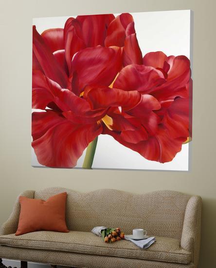 Colourful Floral II-Yvonne Poelstra-Holzaus-Loft Art