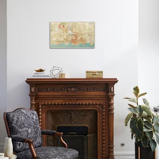 Composite Yonkers New York C 1893 Stretched Canvas Print Joseph Rudolf Bien Art Com