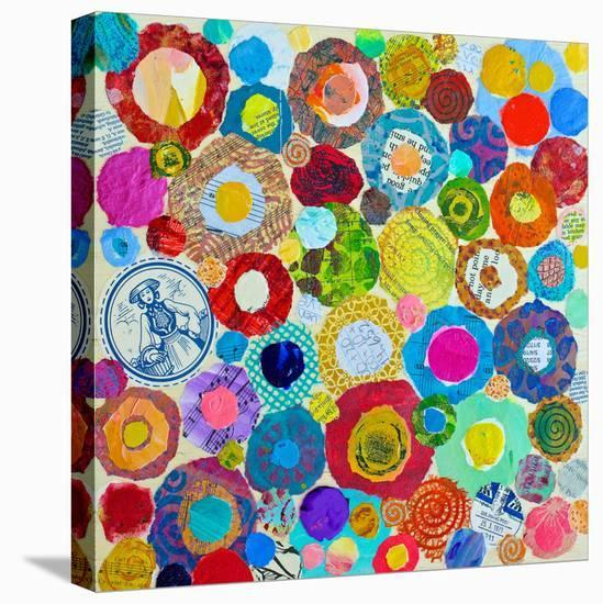 Concentric--Stretched Canvas Print