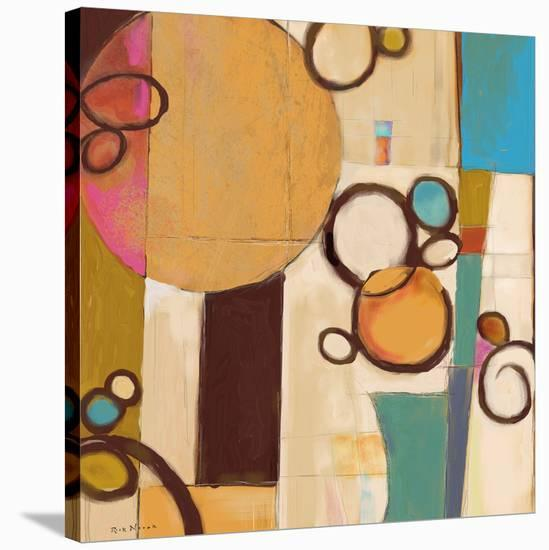 Concept Abstract 04-Rick Novak-Stretched Canvas Print