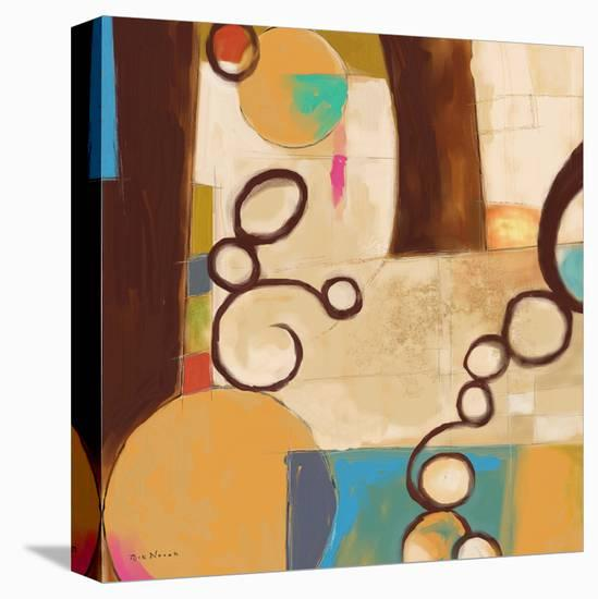 Concept Abstract 05-Rick Novak-Stretched Canvas Print