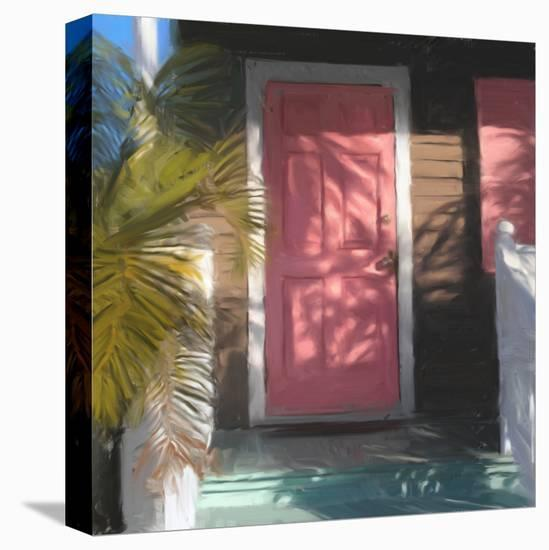 Conch Door 01-Rick Novak-Stretched Canvas Print