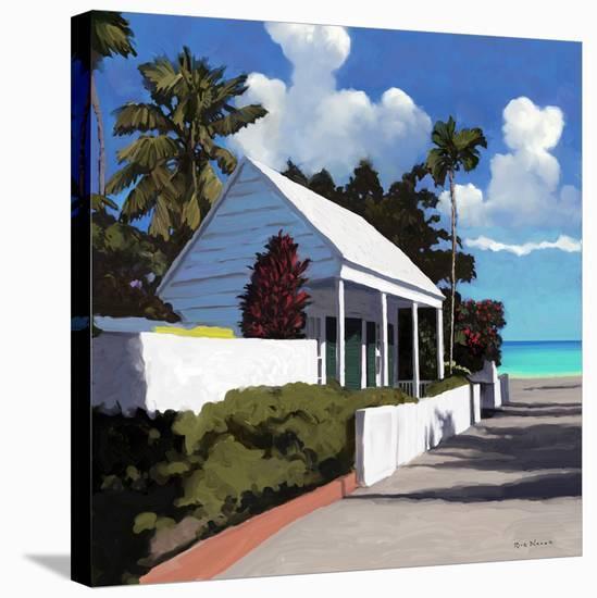 Conch Republic 01-Rick Novak-Stretched Canvas Print