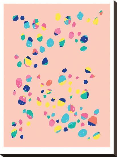 Confetti-Ashlee Rae-Stretched Canvas Print