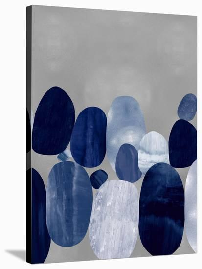 Connected on Silver II-Justin Thompson-Stretched Canvas Print