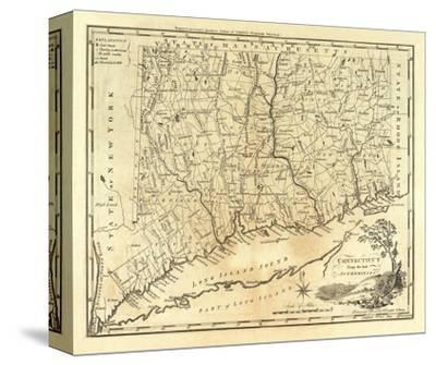 Connecticut C 1795 Stretched Canvas Print Mathew Carey Art Com