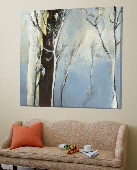 Contemporary Forest 2-Kathleen Cloutier-Loft Art