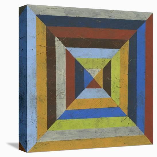 Converge III-Erica J. Vess-Stretched Canvas Print