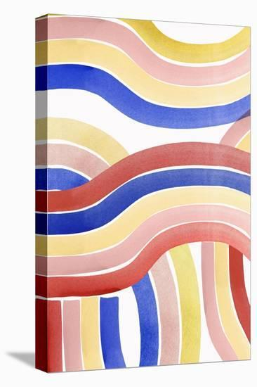 Convulse I-PI Studio-Stretched Canvas Print