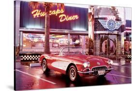 Corvette 1958-null-Stretched Canvas