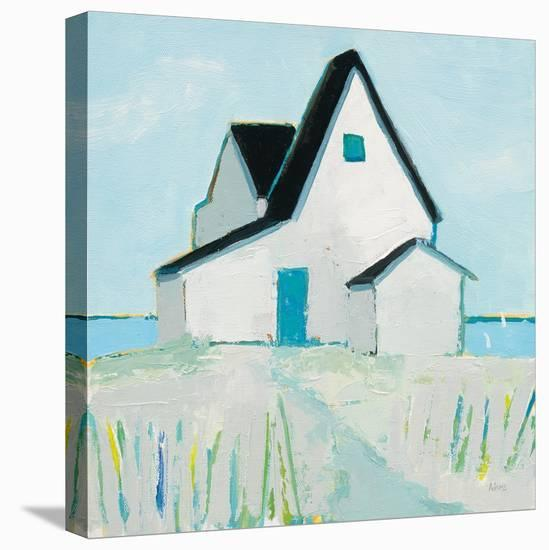 Cottage by the Sea Neutral-Phyllis Adams-Stretched Canvas Print