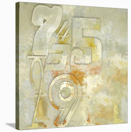 Counting to Four-Rachel Travis-Stretched Canvas Print