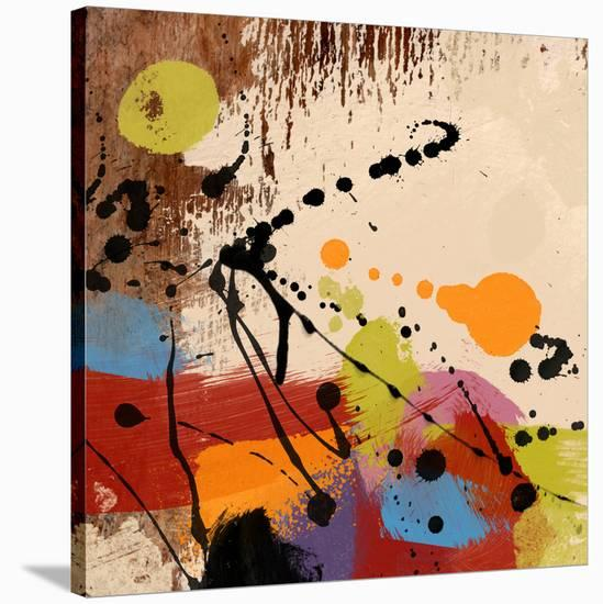 Cross Roads II-Yashna-Stretched Canvas Print