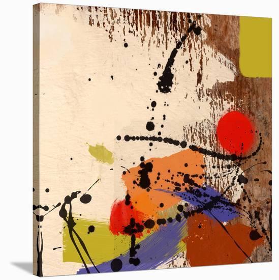 Cross Roads-Yashna-Stretched Canvas Print