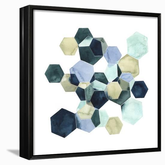 Crystallize I-Grace Popp-Framed Canvas Print
