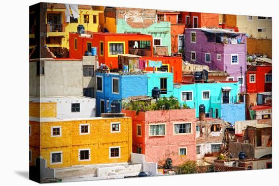 Cultural Colonial Cities of Mexico-www.infinitahighway.com.br-Stretched Canvas Print