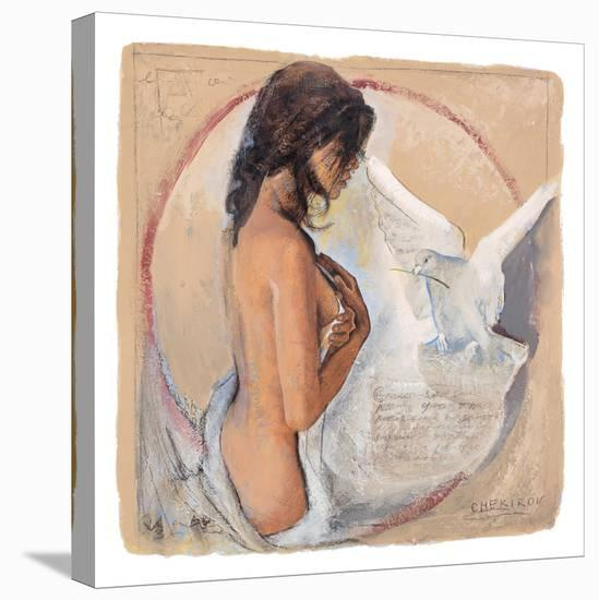 Dainty Moments-Talantbek Chekirov-Stretched Canvas Print