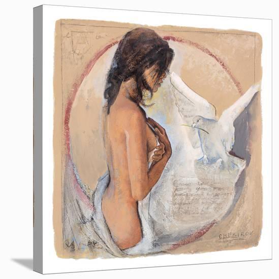Dainty Moments-Talantbek Chekirov-Stretched Canvas Print