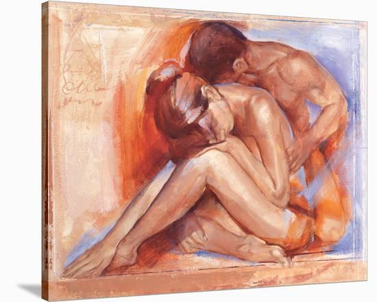 Deep Emotion-Talantbek Chekirov-Stretched Canvas Print