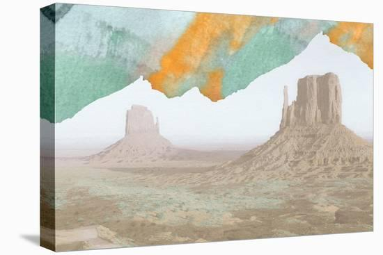Desert Ink 4-THE Studio-Stretched Canvas Print