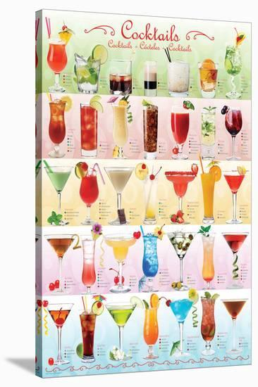 Drinks/Cocktails--Stretched Canvas Print